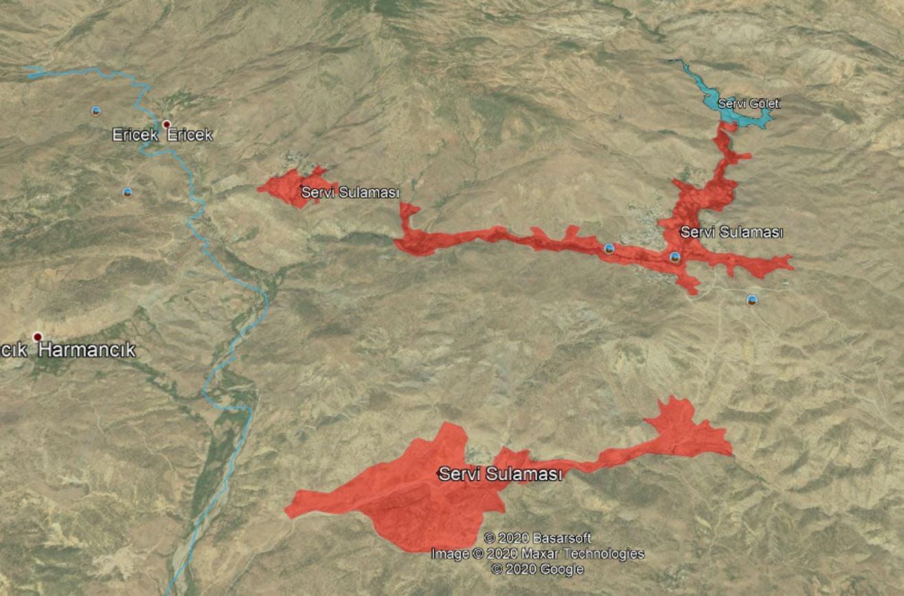 2 Bin 500 Dekar Arazi Sulanacak