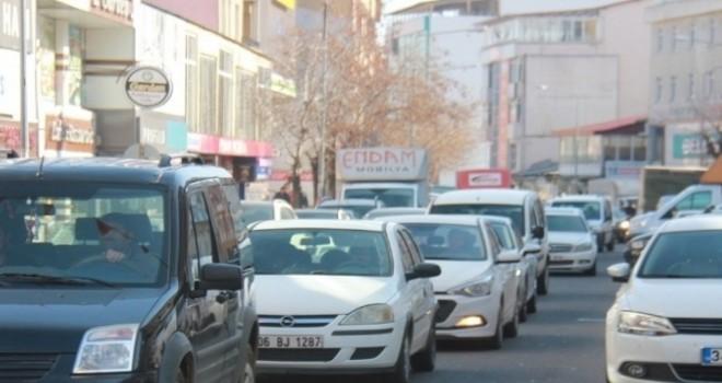 Bingöl'de Trafiğe Kayıtlı 17 Bin 389 Araç Var