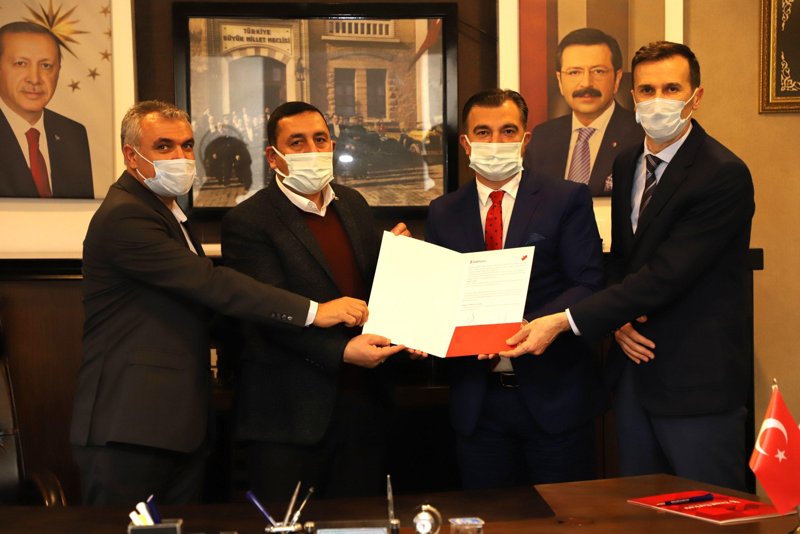BİNTSO, Bankalarla Protokol İmzaladı
