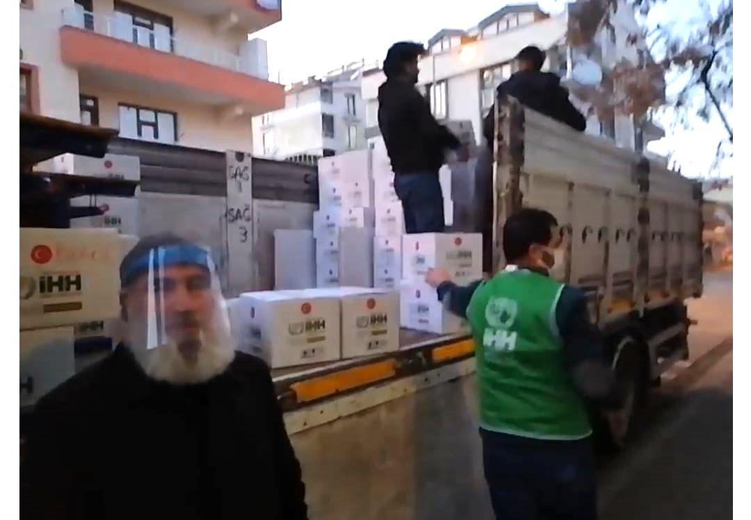 Bingöl'den Suriye'ye 8. Yardım Tırı