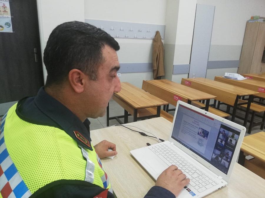 EBA Uygulaması Üzerinden Trafik Eğitimi!