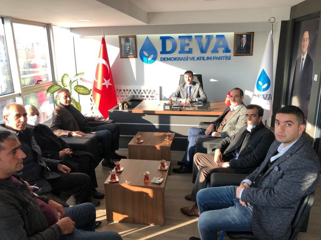 Güler'den DEVA Partisine Ziyaret