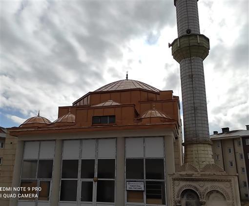 Karlıova TOKİ Camisinin Kubbesi Onarıldı