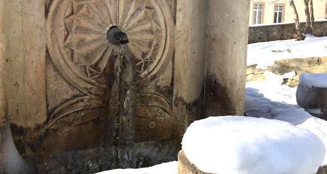 Karlıova'da Sıcaklık -20'ye Kadar Düştü