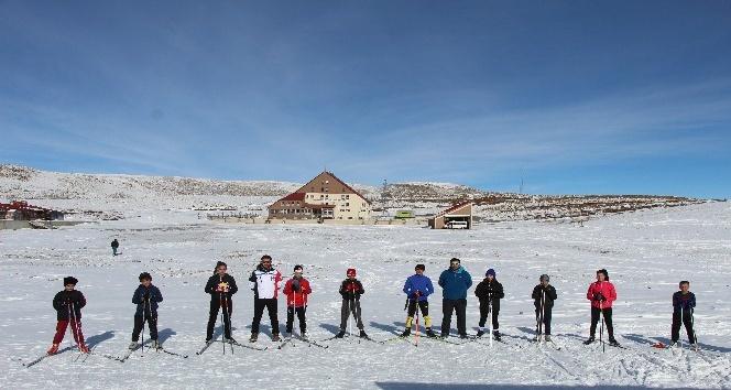 Kayaklı Koçucular Hesarek'te Antrenman Yaptı