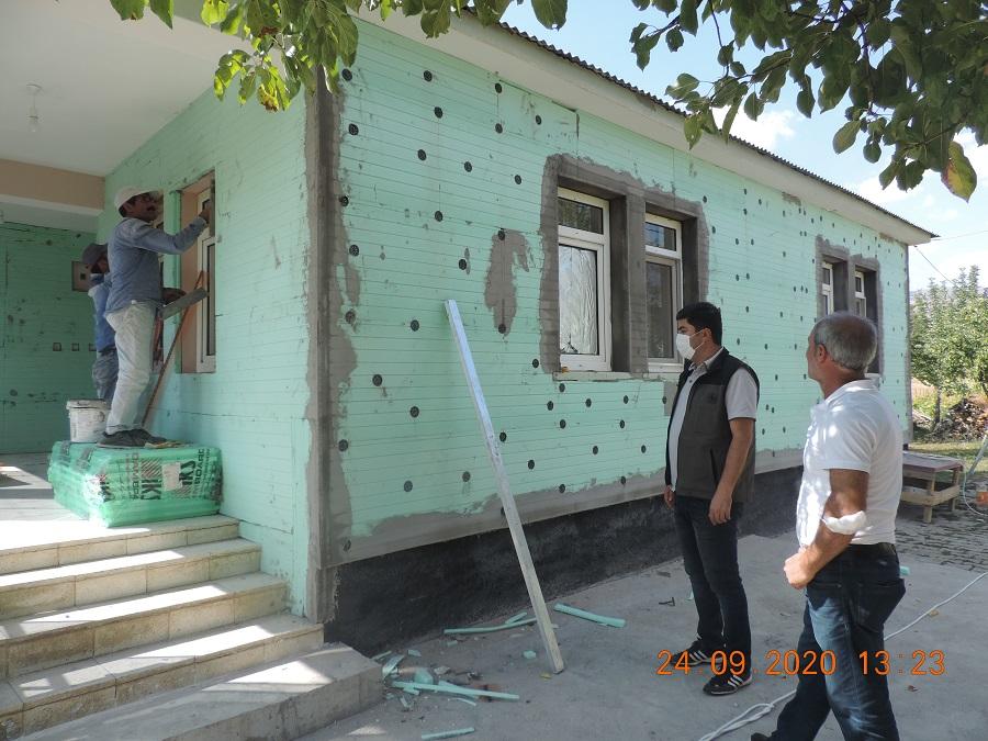 Köylerde Evler Devlet Desteğiyle Isınacak