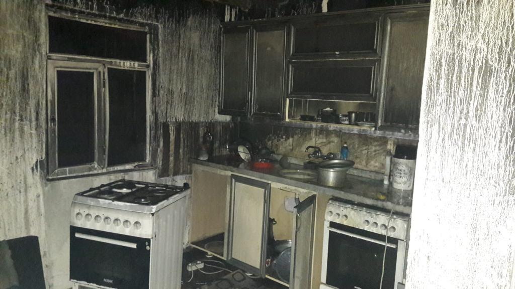 Yangın Çıktı, Ev Kullanılmaz Hale Geldi
