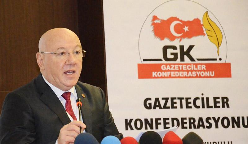 'Basının Sorunları, Yasal Düzenlemelerle Çözümlenmeli'