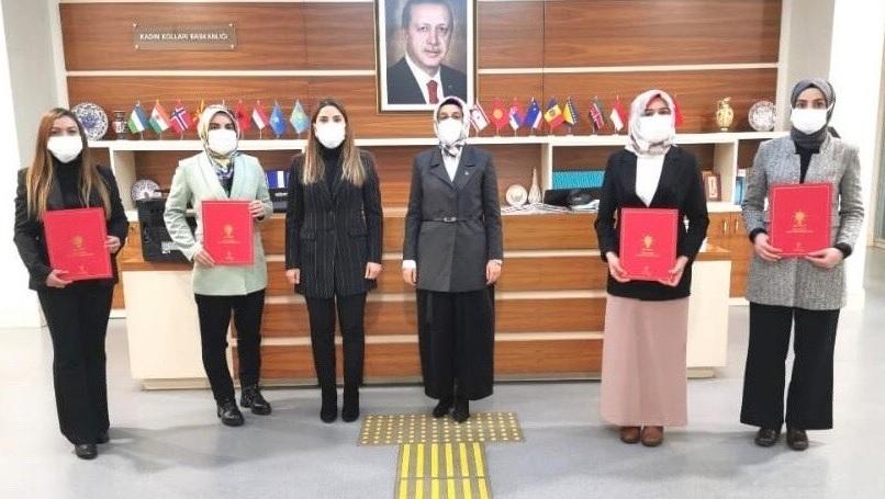 AK Parti'de 4 İlçede Kadın Kolları Başkanları Belirlendi