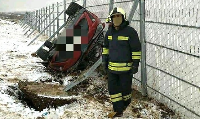 Kuruca Geçidinde Kaza: 1 Yaralı