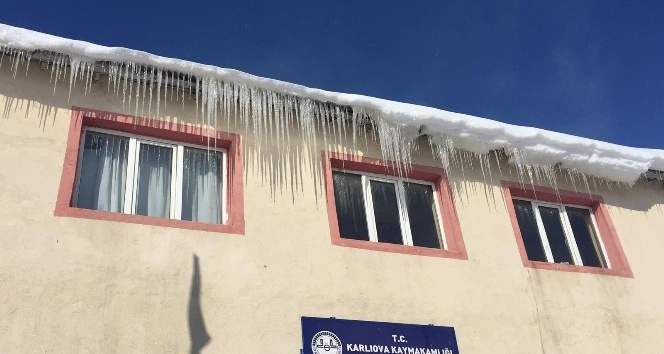 Karlıova'da Hava Sıcaklığı -21 Dereceye Düştü