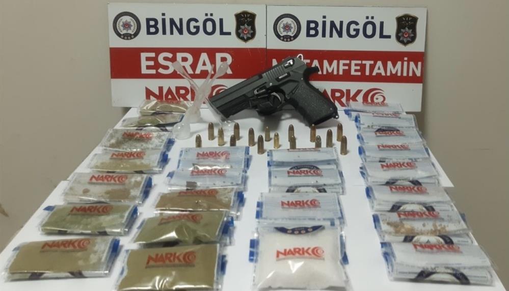 Baskınla Yakalanan Uyuşturucu Taciri Tutuklandı