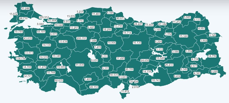Bingöl'de 3 Bin 580 Kişi Aşı Oldu