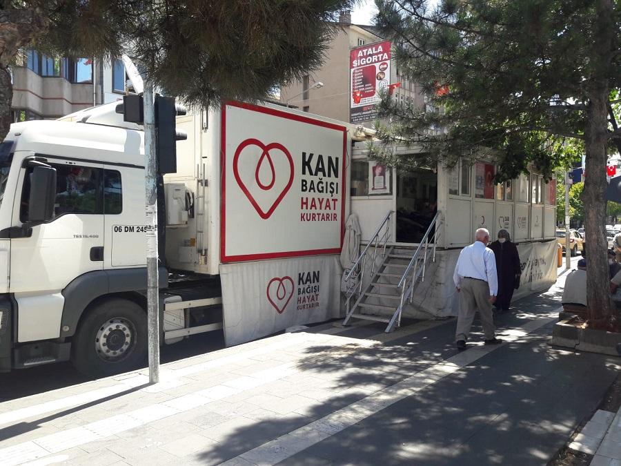 Kan Bağış Tırı Bingöl'e Gelecek