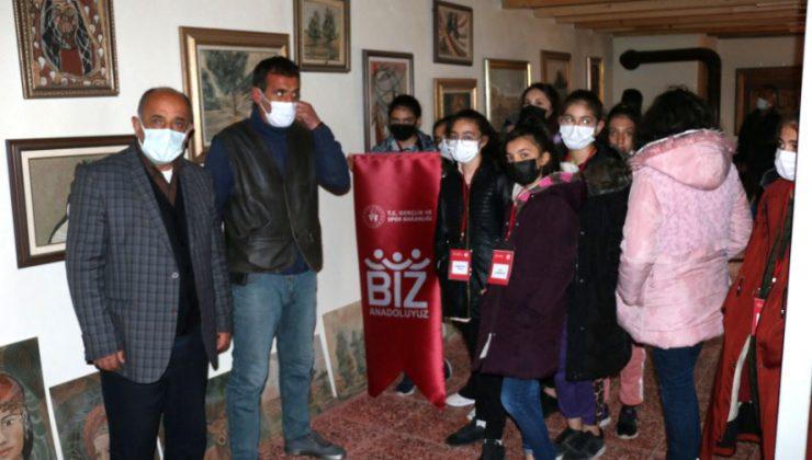 Öğrencilerden Ressam Ali Rıza Kılıç'a Ziyaret