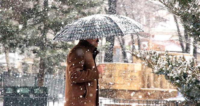 Karla Karışık Yağmur Ve Kar Bekleniyor