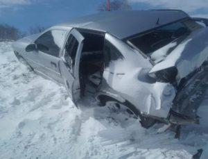 Karlıova'da Kaza: 4 Yaralı