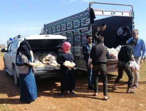 Solhan'dan Suriye'deki Yetimlere Yardım