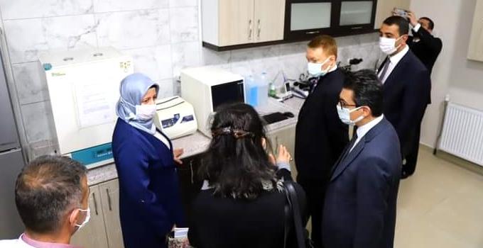 Hayvan Hastalıkları Teşhis Laboratuvarı Açıldı