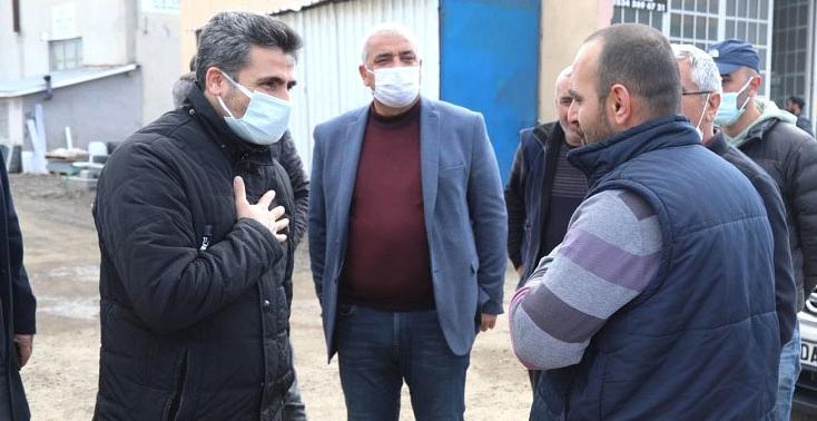 Arıkan'dan Sel Mağdurlarına Ziyaret