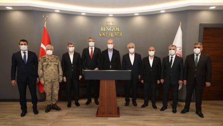 Bakan Soylu 'Güvenlik Toplantısına' Katıldı
