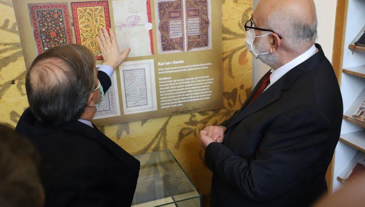Kütüphane Haftasında '100'üncü Yılı' Sergisi Açıldı