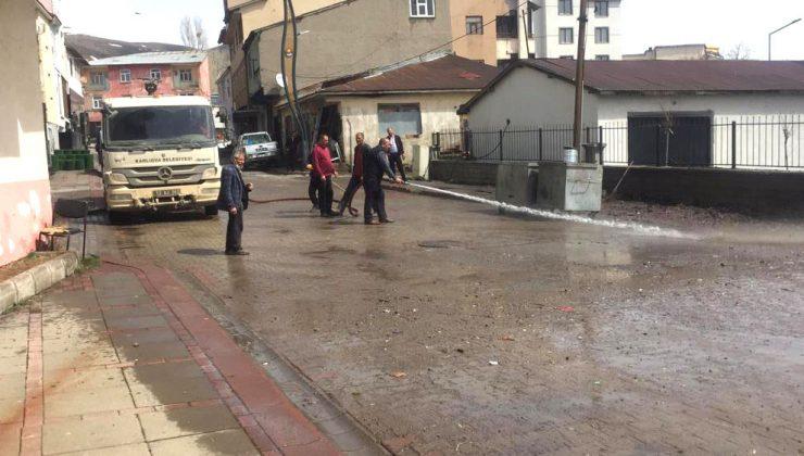 Karlıova'da Bahar Temizliği