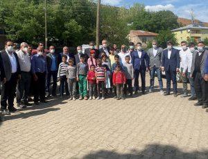 AK Parti'den Sancak Ziyareti