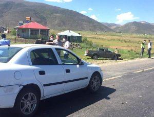 Bingöl Trafik Kazası: 3 Yaralı