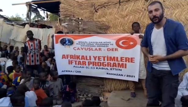 Çavuşlar DER'den Afrika'da 500 Çocuğa İftar