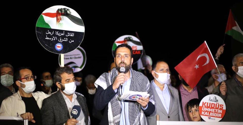 İsrail'in Mescid-i Aksa Saldırısına Tepki
