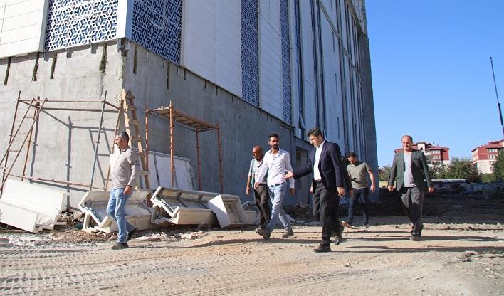 Belediye Binası Yüzde 85 Tamamlandı
