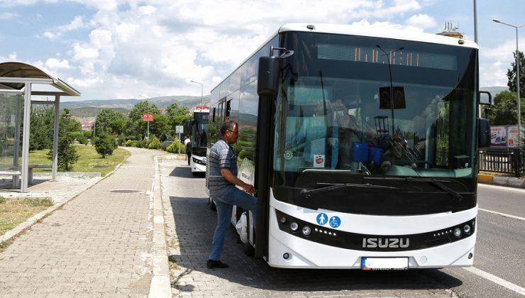 Halk Otobüsleri Saatlerinde Düzenleme!