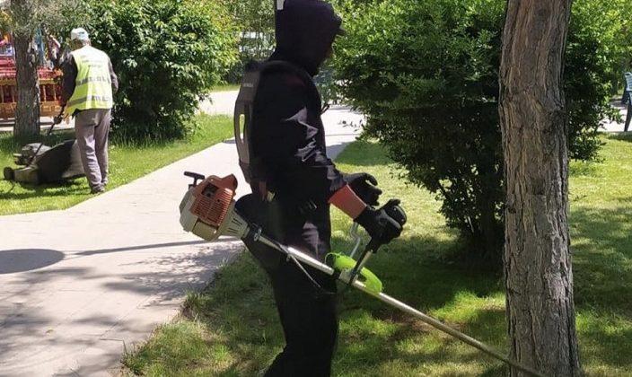 Park ve Bahçelerde Yaz Hazırlığı