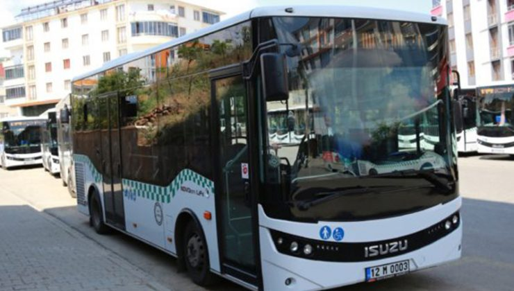 Pazar Günü Halk Otobüsleri Çalışacak