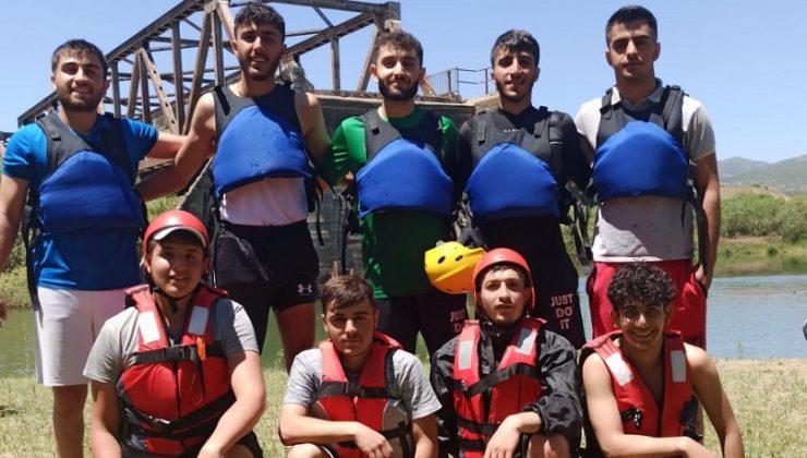 Rafting'de Büyük Başarı