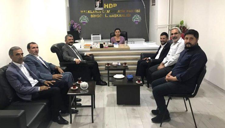 SP'den HDP'ye Taziye Ziyareti