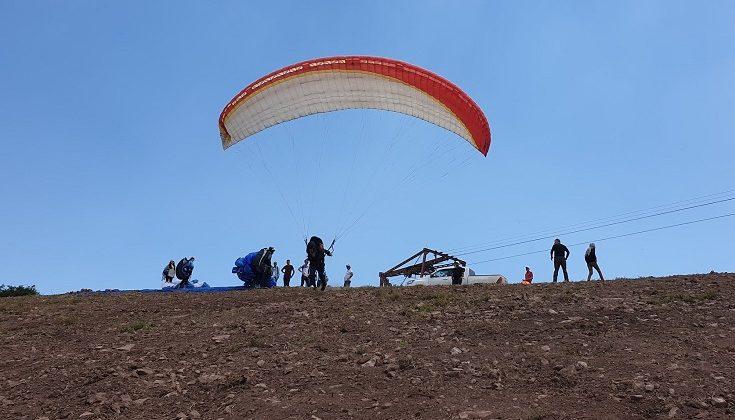 Yamaç Paraşütü Test Uçuşları Yapıldı