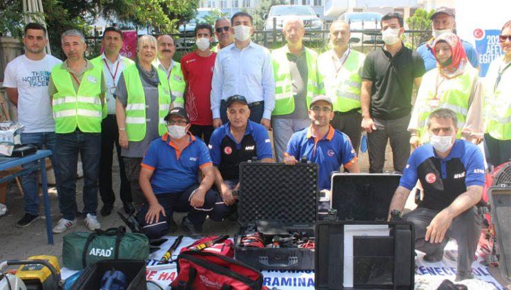 Deprem Farkındalık Sergisi Açıldı