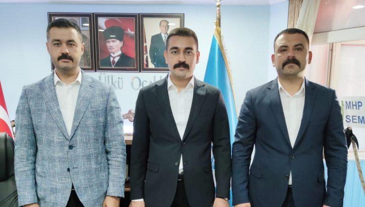 Komşu İl Başkanlarına 'Hayırlı Olsun' Ziyaretleri