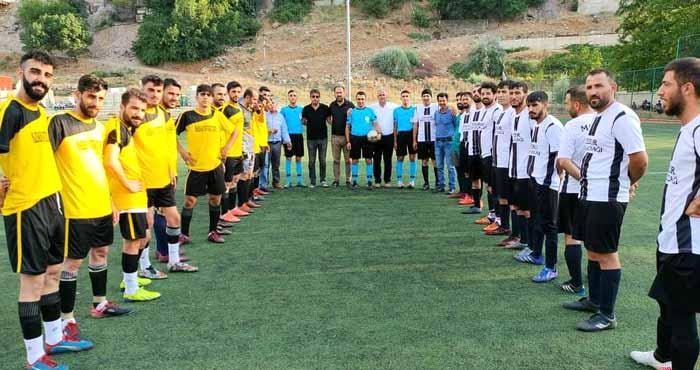 Köyler Arası Futbol Turnuvası Sürüyor