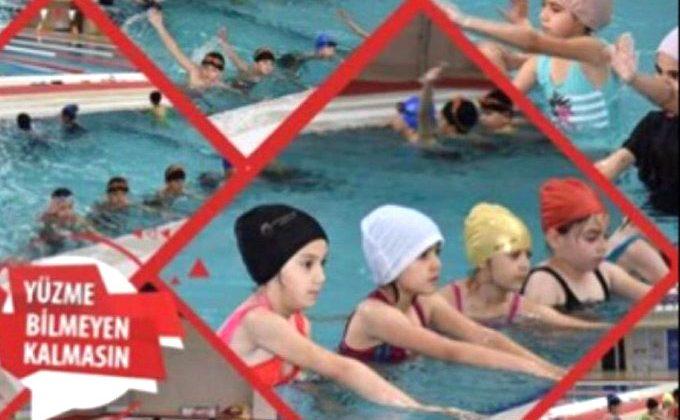 Yüzme Bilmeyen Kalmasın Projesi Başlıyor