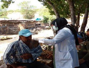 Köylerde Aşılama Çalışmaları Devam Ediyor