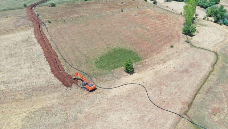 9 Bin 580 Dekar Tarım Alanı Sulanacak
