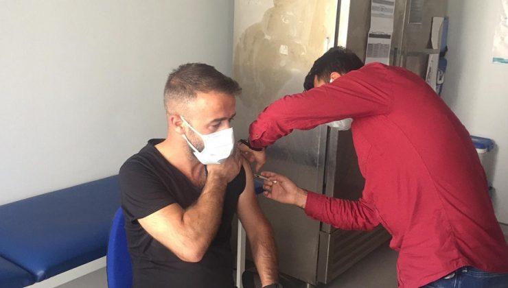 Karlıova'da Aşı Yoğunluğu
