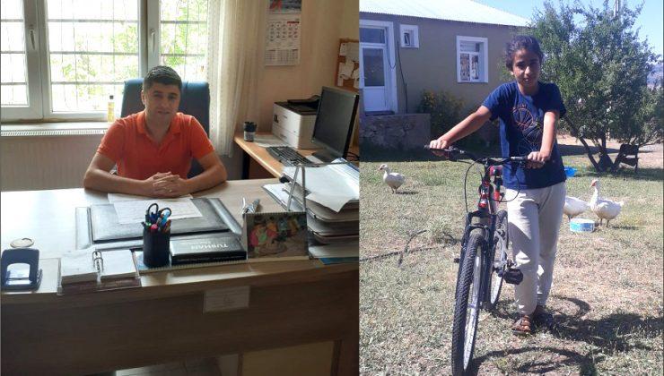 Okul ve Bisiklet Hayali Gerçek Oldu