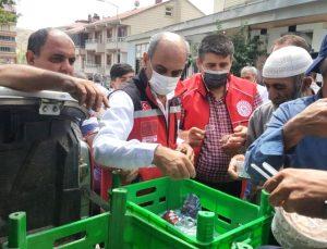 Solhan'da Vatandaşlara Aşure İkram Edildi