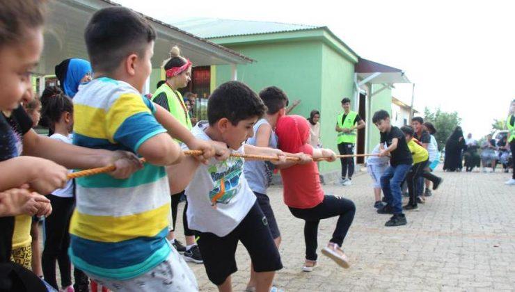 Çocuklar Gönüllerince Eğlendi