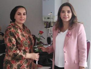 AK Kadınlar Esnaf Ziyareti Yaptı