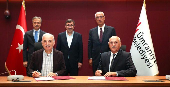 Adaklı ve Ümraniye Belediyeleri Arasında kardeşlik Protokolü